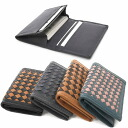Card case genuine leather specifications mesh pass case Alesa type business company work into look at / cards are business card holder, storage, such as a credit card and point card handy and quick delivery and shipping available /ME-4337102-ID-3321