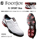 FOOTJOY Golf Shoes FJ Sport Boa [Japanese Golf Shoes][fs2gm]