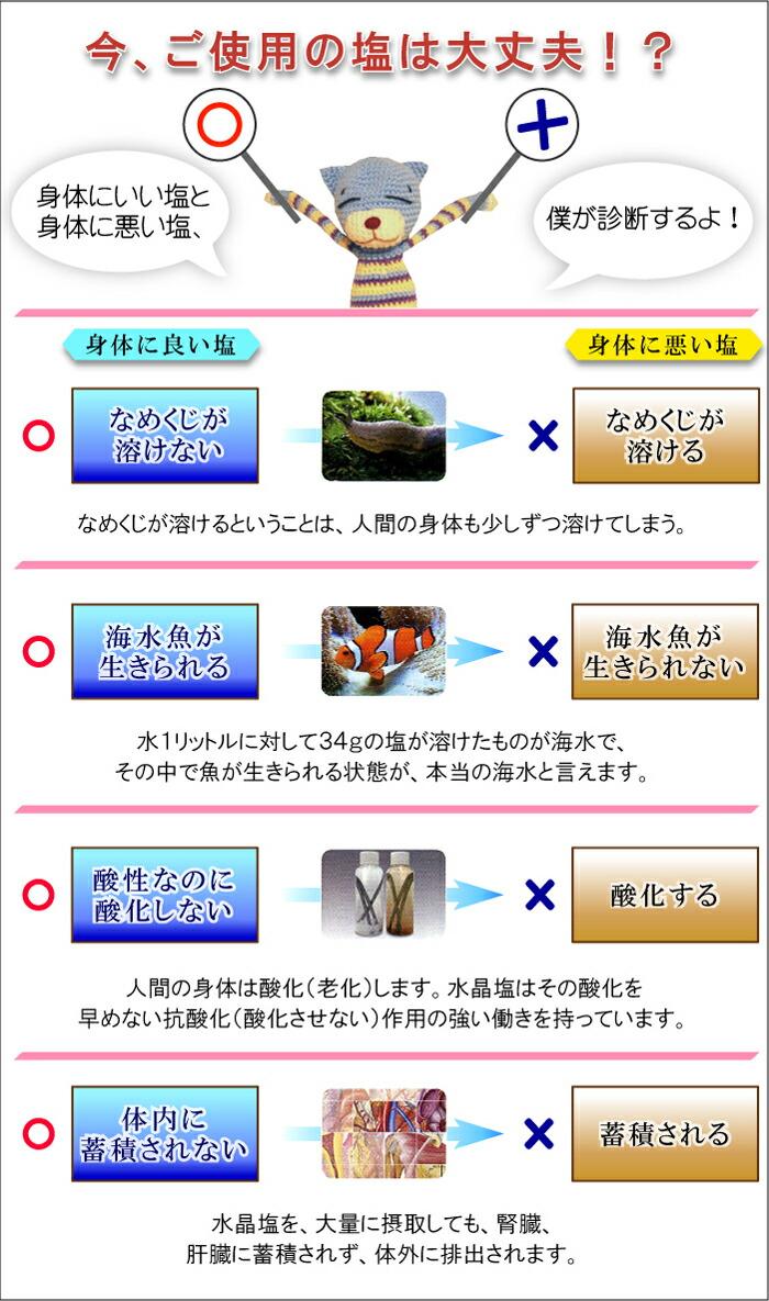 ケイ素 ウモ(umo) 配合 完全熟成塩「 連雲 水晶塩 」100g