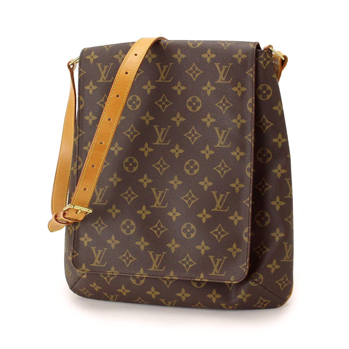 auth louis vuitton monogram musette shoulder bag purse m51256 90008389 ebay. Black Bedroom Furniture Sets. Home Design Ideas