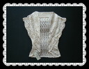 Shades of gradation is a nice double-collar hook crochet Bolero ★