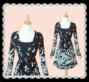 An elegant adult animal pattern stretch piece 10P30Nov13