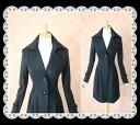 Fine West beaselegant a big collar v-neck design coat ★ nice.