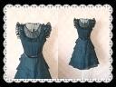 Frilwestbeeslandom ruffled silk elegant and feminine 混wa NG piece party dress