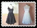 ★ Princess style SILK (silk) sprinkles very cute little Ribbon dress
