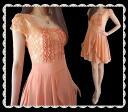 Very cute skirt fluttering FLIR racesiphong-Wan piece
