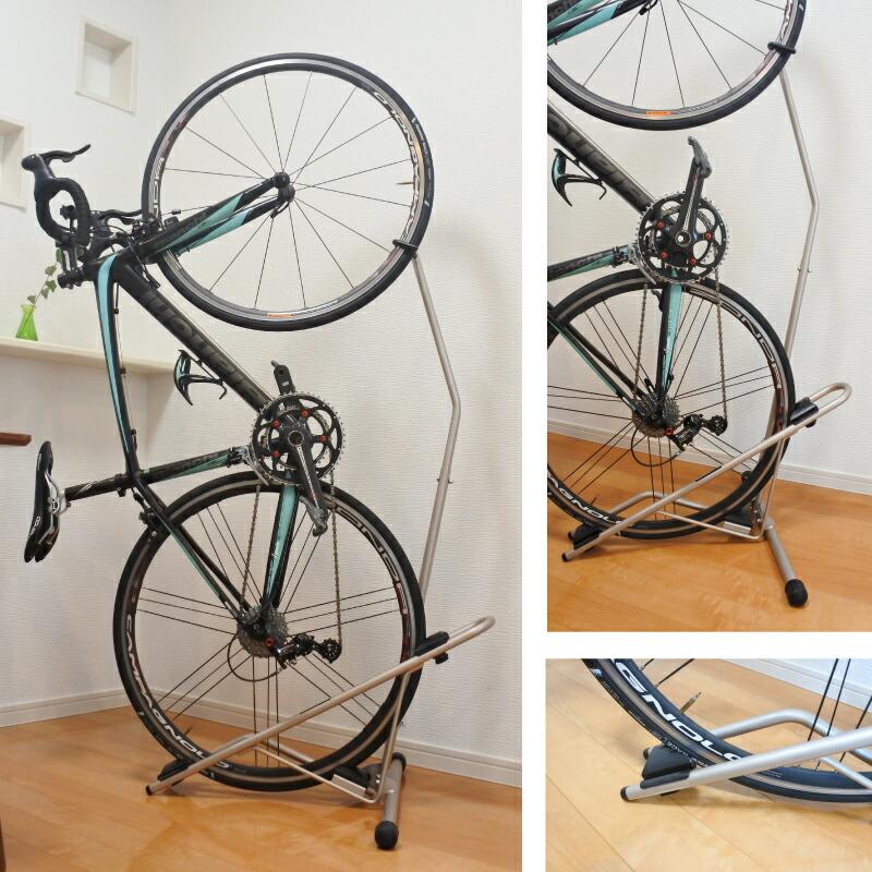 屋内保管用の自転車ラック