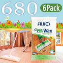 I'm sure someone would tell! My House is a beautiful secret! AURO (aura) No.680 natural flooring wax sheets 6 Pack (10 cards into x 6 Pack)