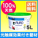 To clean the air walls! Like plaster white wall paint AURO (aura) No.328 light catalyst effect with natural wall paint 5 l