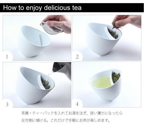 マギッソ ティーカップの使い方画像