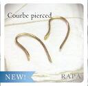 K18 cool b Pierce ◆ easy to put simple K18 gold earrings 18 k 18 gold bullion pierce ladies K18 earrings 05P01Nov14