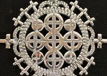 エチオピア正教クロスシルバー925ペンダント