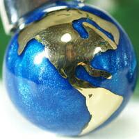 ミュージカルボール 地球儀 アメリカ