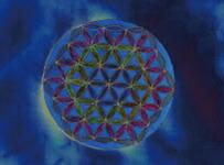フラワーオブライフ(生命の花)シルバーペンダント