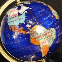 天然石 宝石 自然素材 地球儀