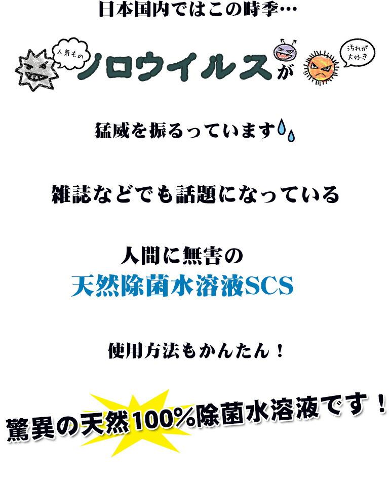 日本国内ではこの時期・・・ノロウイルスが猛威を振るっています