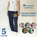 Champion champion College Print College print sweatpants by 2015-16 NEW models for