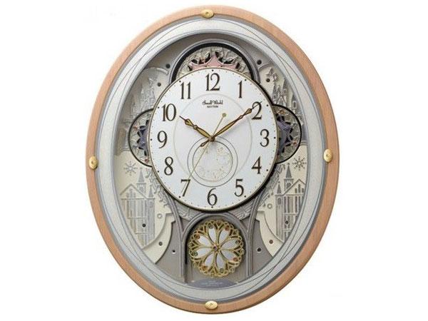 纤维板材料预切板与白橡木,挡风玻璃: 玻璃 无线电时钟 (gizmo 手表)