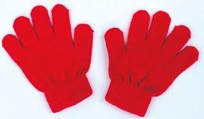 カラーのびのび手袋 赤 1200 P12Sep14