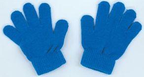 カラーのびのび手袋 青 1201 P12Sep14