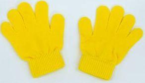 カラーのびのび手袋 黄 1202 P12Sep14