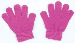 カラーのびのび手袋 桃 1204 P12Sep14