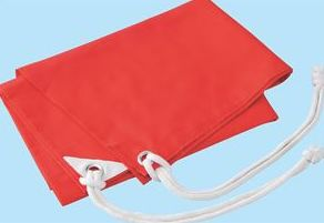 学級旗 赤 1274 P12Sep14