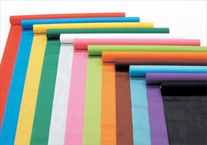カラー不織布ロール 黄緑 1M切売 14049 P12Sep14