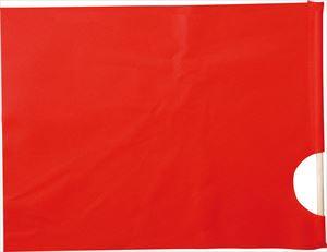 ハンドフラッグ 赤 1627 P12Sep14