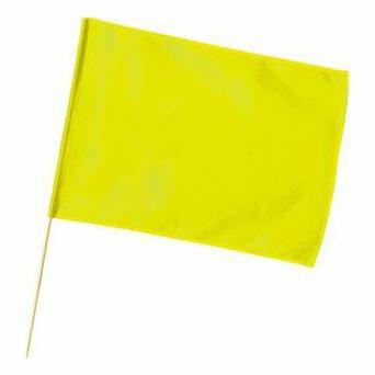 大旗(600×450mm)蛍光イエロー 1776 P12Sep14