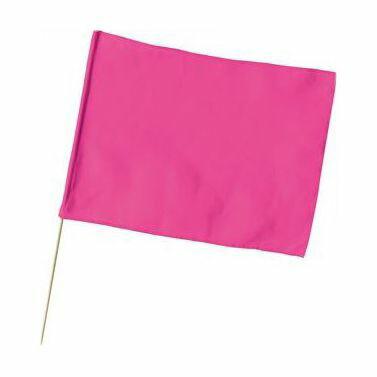 大旗(600×450mm)蛍光ピンク 1777 P12Sep14