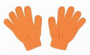 カラーのびのび手袋 蛍光オレンジ 2267 P12Sep14