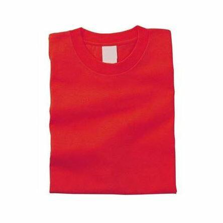 カラーTシャツ S 010 レッド 38700 P12Sep14
