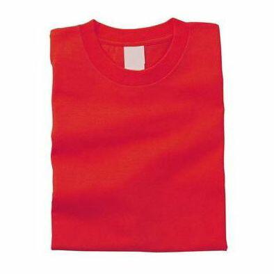カラーTシャツ L 010 レッド 38720 P12Sep14