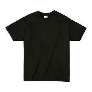 ライトウエイトTシャツ M ブラック 005 38745 P12Sep14