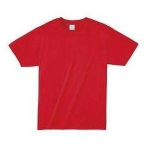ライトウエイトTシャツ M レッド 010 38749 P12Sep14