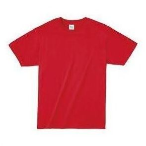 ライトウエイトTシャツ L レッド 010 38750 P12Sep14