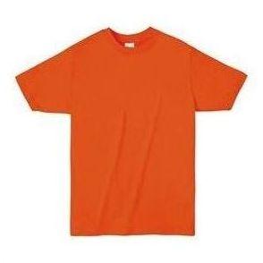 ライトウエイトTシャツ M オレンジ 015 38757 P12Sep14