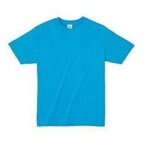 ライトウエイトTシャツ L タ-コイズ 034 38774 P12Sep14