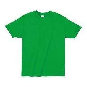 ライトウエイトTシャツ L ブライトグリ-ン 194 38778 P12Sep14