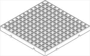 ARTECブロックベース正方形小ヘッダーPP袋付 77911 P12Sep14