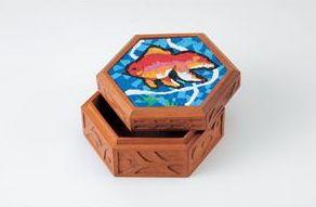 マルチ六角箱(プラモザイク工芸) 56990 P12Sep14