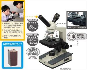 ツインビュー生物顕微鏡TMD1000(木箱大付) 9871 P12Sep14