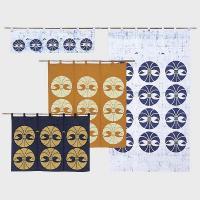 EL1961 川島織物セルコン 丸のし のれん 85×150 ブルー P12Sep14