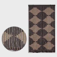 EE1000 川島織物セルコン そろばん珠 珠のれん ブラウン P12Sep14