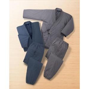 レーベンヘンドラー 中綿入り作務衣2色組(ネイビー、グレー) LP-8700 M P12Sep14