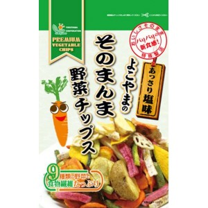 よこやまのそのまんま野菜チップス(あっさり塩味) 100g×20袋セット(代引き不可) P12Sep14