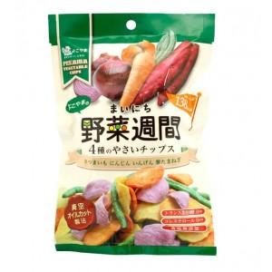 よこやまのまいにち野菜週間(4種のやさいチップス) 28g×12袋セット(代引き不可) P12Sep14