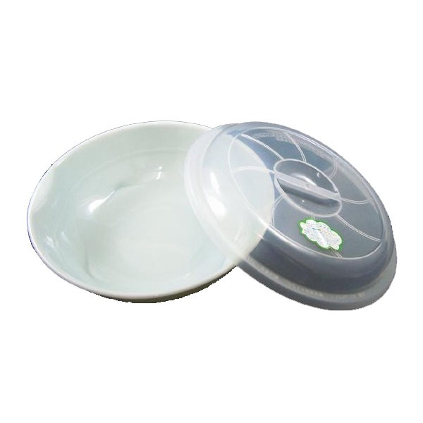 レンジでOK!ラーメン鉢(蓋付) 黒・ID-02-3 P12Sep14