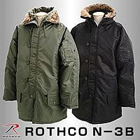 ROTHCO(ロスコ) N3-B ミリタリージャケット ブラック US-S P12Sep14
